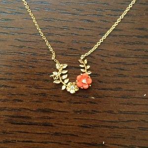 Floral Circlet Necklace Anthropologie